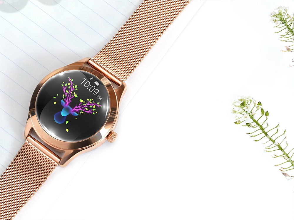 Women's Waterproof Touch Screen Smart Watch