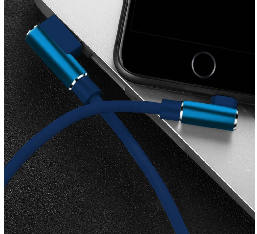 90 Degree Charging Cable for iPhone