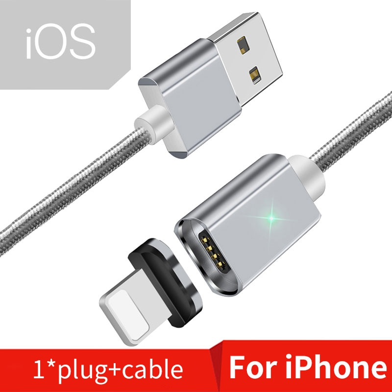 Silver iOS Cable